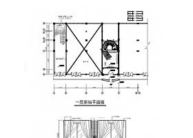 清静书吧CAD室内装修图