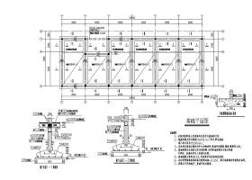 一套不错的民宿建筑结构全套CAD图纸
