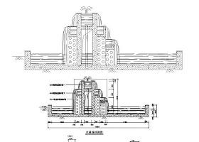 水幕墙CAD设计图