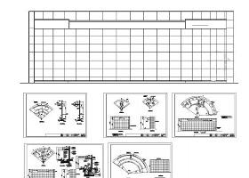 三種水幕墻施工詳圖