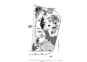 工業園區水幕墻方案及CAD施工圖