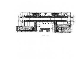北京地铁站公共区域装修工程CAD施工图(含效果图)