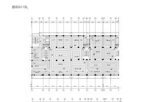 住宅楼地暖系统设计CAD施工图(含地热干管)
