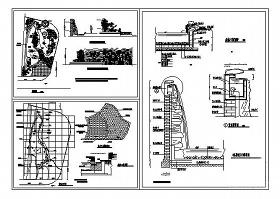 水幕墻施工CAD詳圖