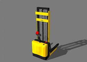 小叉车SketchUp模型下载