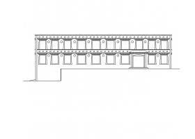 某二层小型诊所卫生室卫生所方案图CAD图纸