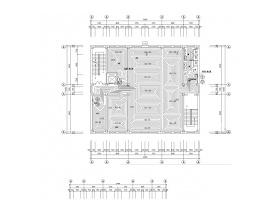 某辦公樓地板輻射采暖及消防給排施工CAD圖