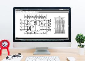 CAD标准层建筑工程施工图