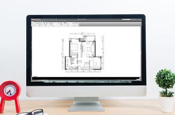 多层户型平面CAD平面图