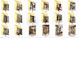 知名公司总部展厅整木定制实景高清照片