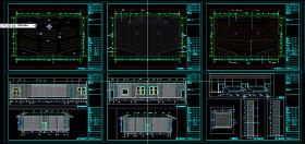 会议室CAD布置图