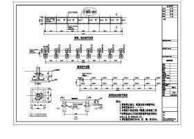 桥头公园景观桥图石栏杆图CAD图纸