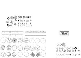 园林图块CAD图例集合