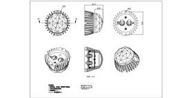 最新LED點光源CAD原創設計