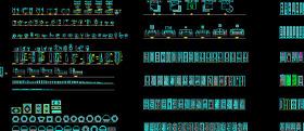 CAD图库最全图库室内设计施工图