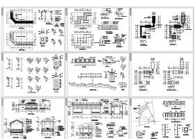 园林完整CAD施工图