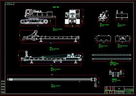 旋挖钻机CAD机械图纸