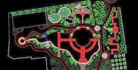 上海某公园CAD施工图