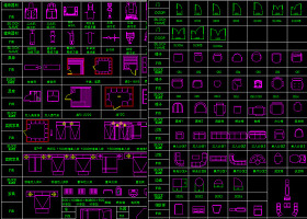 CAD工裝圖塊模型CAD圖庫