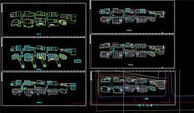 某美食城cad建筑图CAD图纸