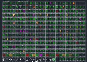 數百種CAD平面樹圖例