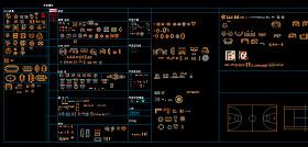 CAD家具平臺圖
