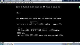 几十种汽车平立面cad素材图纸