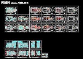 酒吧CAD改造施工图