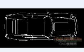 CAD汽车模型图块下载