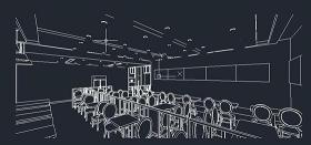 CAD餐廳室內效果圖