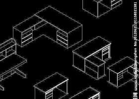 CAD三维的办公家具设计源文件
