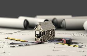 CAD圖紙與房屋模型