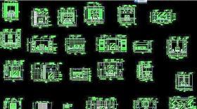 CAD家装客厅套图