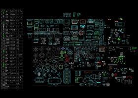 常用家具CAD圖庫