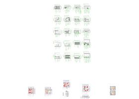 CAD柜子立面图大全图片