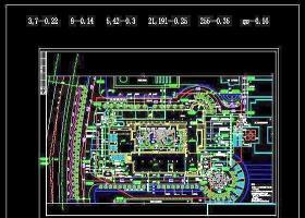 學校CAD平面圖紙