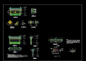 照壁设计建筑cad设计施工图