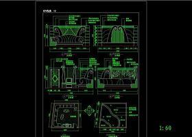 建筑CAD常用千种图块之KTV装修