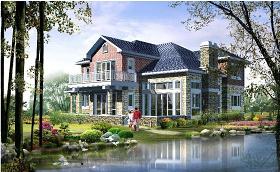 二层别墅CAD图纸