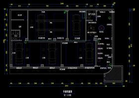 汽车美容CAD施工图