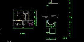 厕所CAD立面图