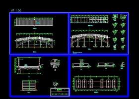 通用拱桥cad施工大样设计图