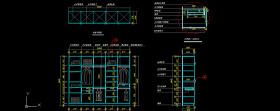 衣柜CAD详图图片