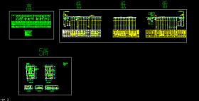 高低压配电系统图CAD图纸
