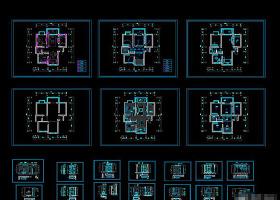 CAD图库家装施工图纸