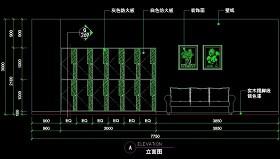 理发店CAD图块图纸