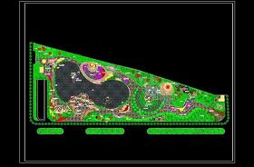 广场园林绿化CAD图纸