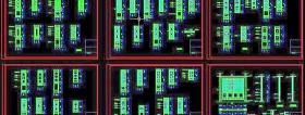常用門窗CAD圖庫