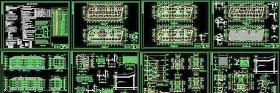 全套建筑CAD施工图