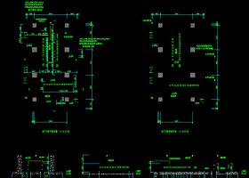 10KV变电所高低压配电系统图CAD图纸